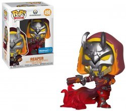 Фигурка Overwatch Funko POP - Reaper (Hell Fire) Exclusive 498 Фанко Овервотч Жнец
