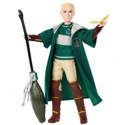 Кукла фигурка Harry Potter - Quidditch Draco Malfoy - Драко Малфой Mattel