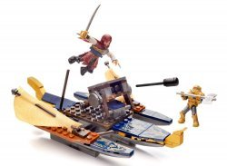 Конструктор Mega Bloks Assassins Creed - War Boat Building Set