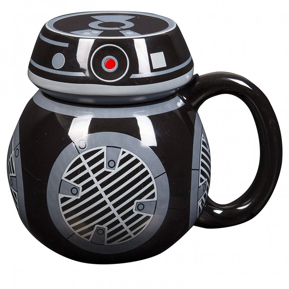 Чашка Star Wars - The Last Jedi - BB-9E Ceramic Sculpted Mug with Lid - 16 oz