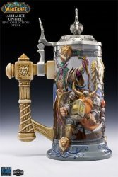 Коллекционная кружка Warcraft Alliance United Legendary Collection Stein  Limited Edition
