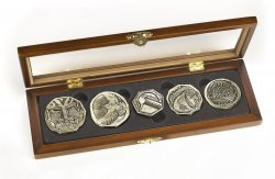 Набор монет The Hobbit - Dwarven Treasure Coin Set