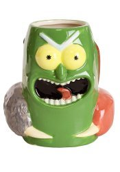 Чашка Рик и Морти - Pickle Rick 3D Sculpted Mug