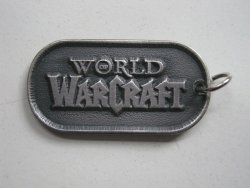 Брелок World of Warcraft - Alliance  Pewter