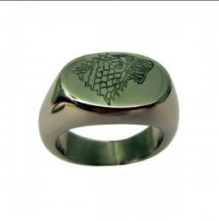 Кольцо Game of Thrones Stark wolf Ring