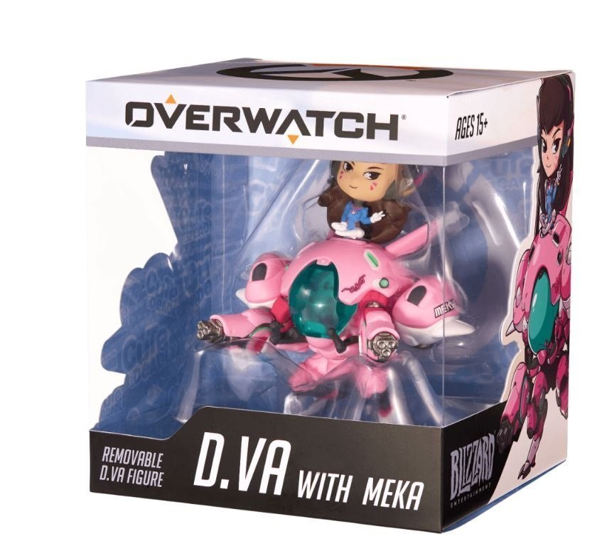 Мини фигурка Cute But Deadly - D.Va and MEKA Figure