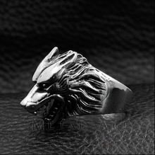Кольцо Game of Thrones Stark wolf Ring №2