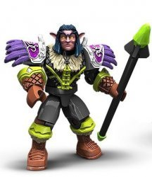 Mega Bloks World of Warcraft Set:  Night Elf Druid Ironoak