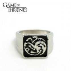 Кольцо Game of Thrones targaryen ring