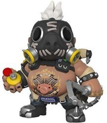 "Фигурка Overwatch Funko Pop! 6"" Roadhog (Over-Sized) Figure"