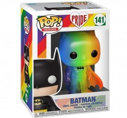 Фигурка Funko Pop! Heroes: Pride 2020 - Batman (Rainbow)