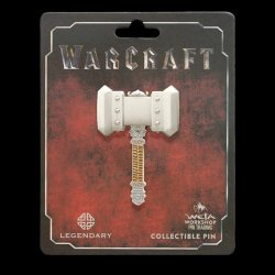 Значок collectible Pin ORGRIM DOOMHAMMER PIN