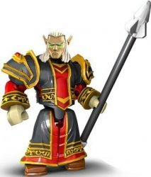 Mega Bloks World of Warcraft Set: Blood Elf Priest Valoren