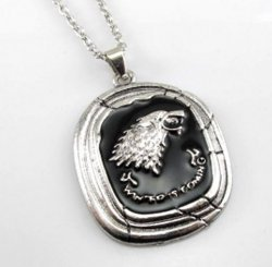 Медальон Game of Thrones Stark Talisman