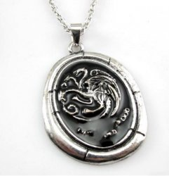 Медальон Game of Thrones Targaryen Talisman