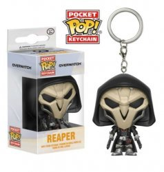 Брелок - Funko Pocket Pop! Overwatch Keychain - Reaper