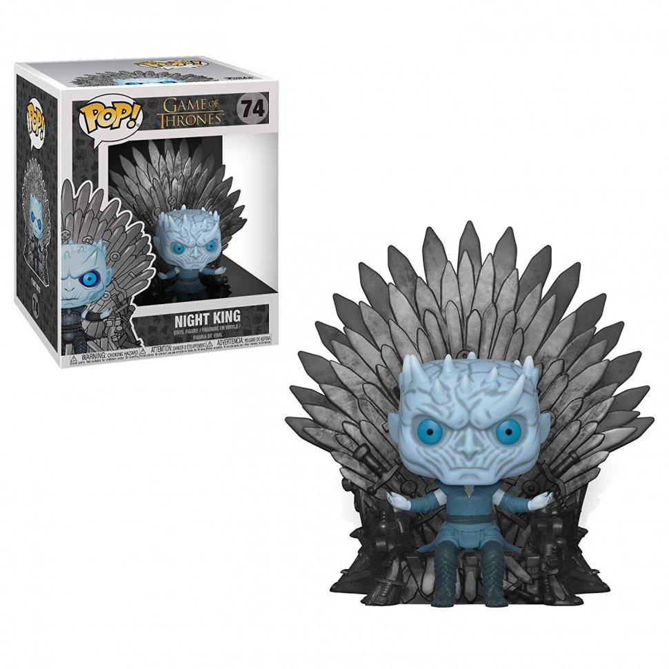 Фигурка Funko Pop Deluxe: Game of Thrones - Night King Sitting on Iron Throne фанко Король ночи