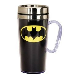 Стакан термос Batman Insulated Black Travel Mug with Handle