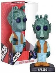 Фигурка Star Wars -  Greedo Bobble Head Figure