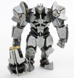 Конструктор из дерева 3D - Overwatch Reinhardt Incredibuilds Wood Model
