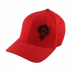 Кепка World of Warcraft Azeroth Choppers Horde Hat (размер S/M) красный