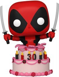Фигурка Funko Pop Marvel Дэдпул 30th Deadpool in Cake