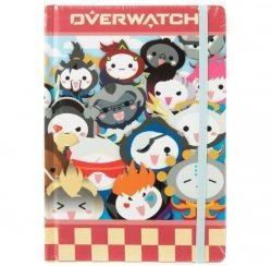 Блокнот Овервотч Pachimari Overwatch Heroes Notebook