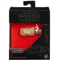 Фигурка Star Wars (Episode VII - The Force Awakens) Black Series Titanium Vehicles - Rey's Speeder (Jakku)