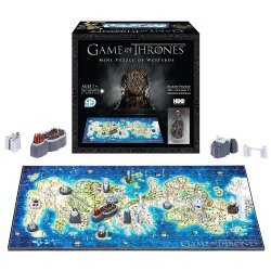 4D пазлы Cityscape Mini Game of Thrones: Westeros Time Puzzle (350 Piece)