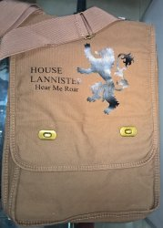 Сумка Game of Thrones Lannister Messenger Bag №2
