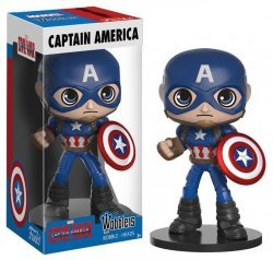 Фигурка Funko Wobbler: Marvel - Captain America