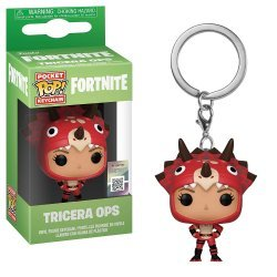 Брелок - Fortnite Funko Pop фанко Фортнайт - Tricera Ops