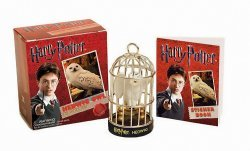 Фигурка Harry Potter Hedwig Owl Kit and Sticker Book (Miniature Editions)