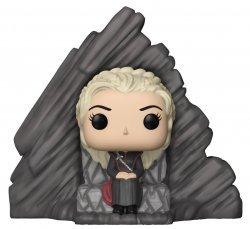 Фигурка Funko Pop Rides: Game of Thrones - Daenerys on Dragonstone Throne