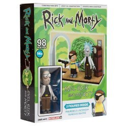 Конструктор Рик и Морти McFarlane - Evil Rick and Morty Building Set