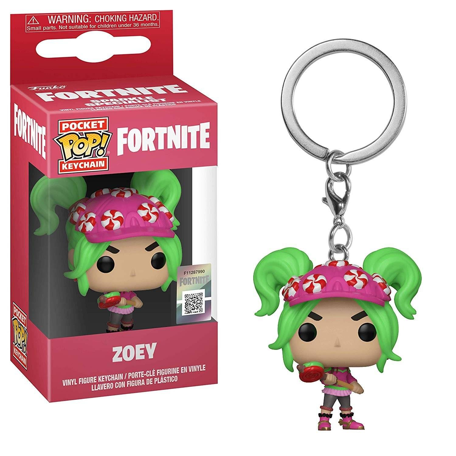 brelok fortnite funko pop fanko fortnajt zoey - zoey de fortnite