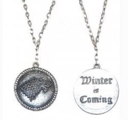 Медальон Game of Thrones Stark Wolf (Winter is Coming)