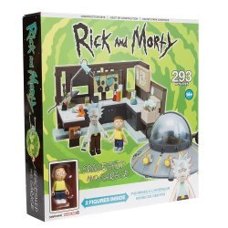 Конструктор Рик и Морти McFarlane - Rick and Morty - Spaceship and Garage