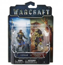 Фигурка Warcraft Movie - LOTHAR VS HORDE WARRIOR Figure set