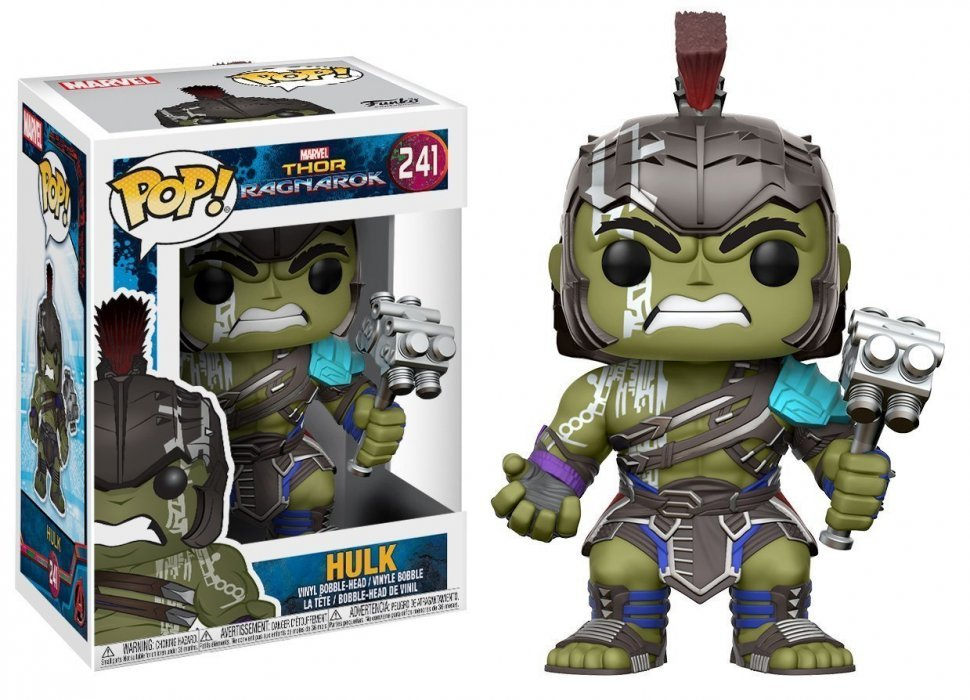Фигурка Funko Pop! Marvel: Thor Ragnarok - Hulk Helmeted Gladiator