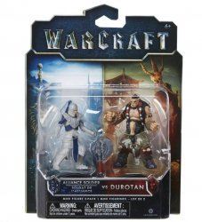 Фигурка Warcraft Movie - ALLIANCE SOLDIER VS DUROTAN Figure set