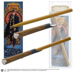 Ручка палочка Fantastic Beasts - Newt Scamander Wand Pen and Bookmark + Закладка