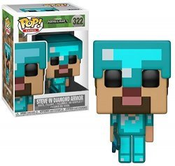 Фигурка Funko POP Games: Minecraft - Steve in Diamond Armor (Exclusive)