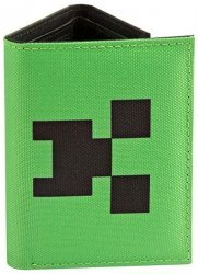 Гаманець JINX Minecraft - Pocket Creeper Tri-Fold Nylon Wallet