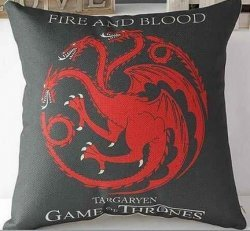 Подушка Game of Thrones  (Cotton & Linen) Targaryen