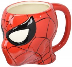 Чашка Marvel Comics Spiderman 3D Sculpted ceramic Mug