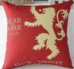 Наволочка  Game of Thrones  (Cotton & Linen) Lannister