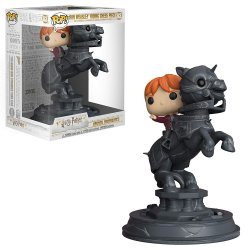 Фигурка Funko Pop Movie Moment: Harry Potter - Ron Weasley Riding Chess piece