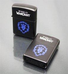 Зажигалка WORLD OF WARCRAFT  Alliance (black)