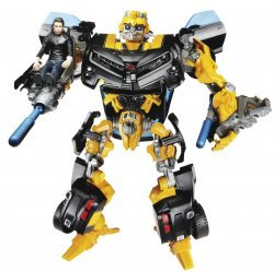 Фигурка Transformers Bumblebee with Sam  robot Action figure (Dark of the Moon)
